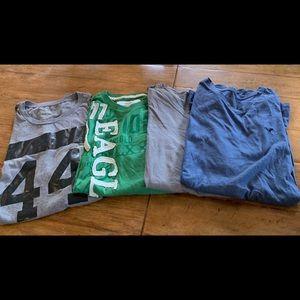 American Eagle Short Sleeve T's (4 in bundle)